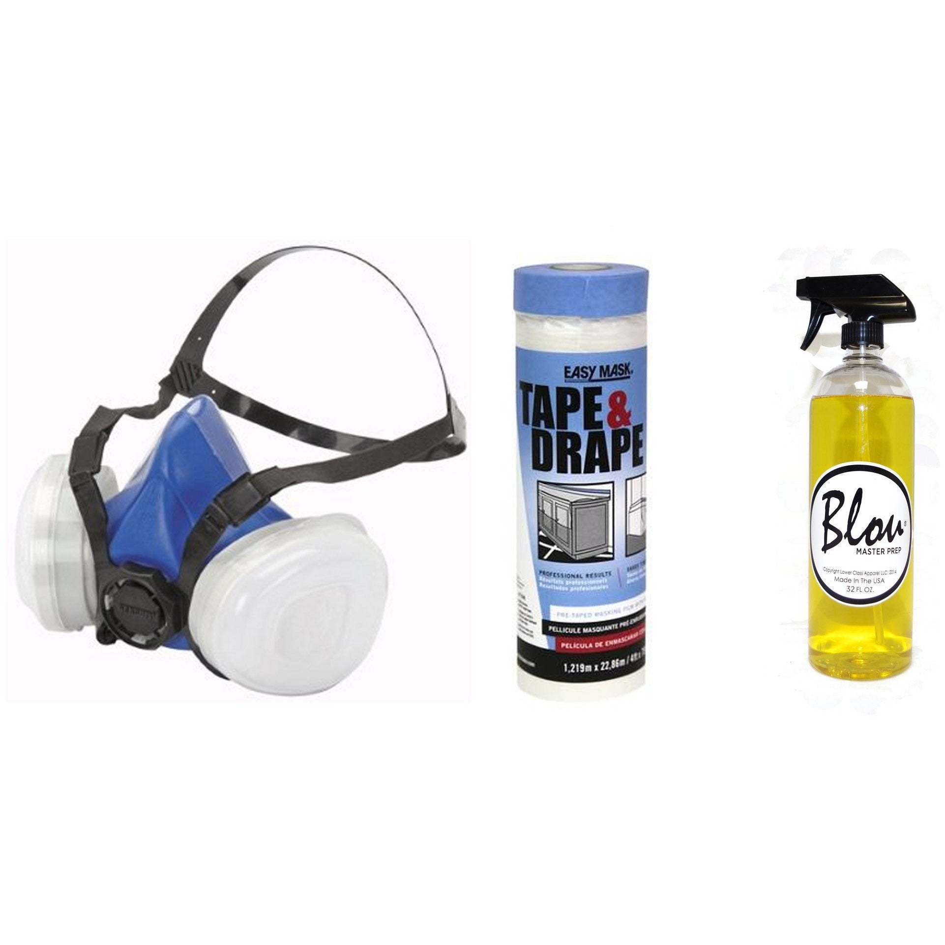 Load image into Gallery viewer, Premium Kit (Gerson Respirator, Tape & Drape, Master Prep 32oz)