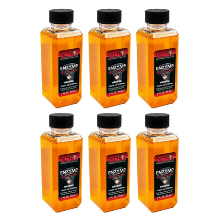 Tornador Enzyme Concentrate Multi Purpose Cleaner 2oz Bottles - 3, 6, 12 Packs or Gallon