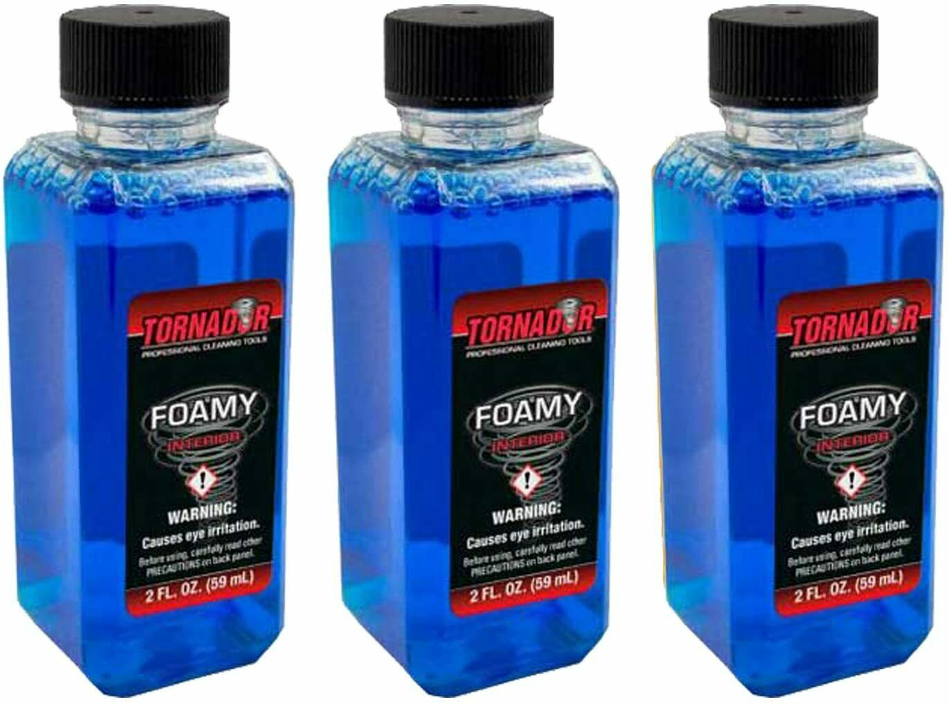 Load image into Gallery viewer, Tornador Foamy Emulsifying Interior Cleaner 2oz Bottles - 3, 6, 12 Packs or Gallon