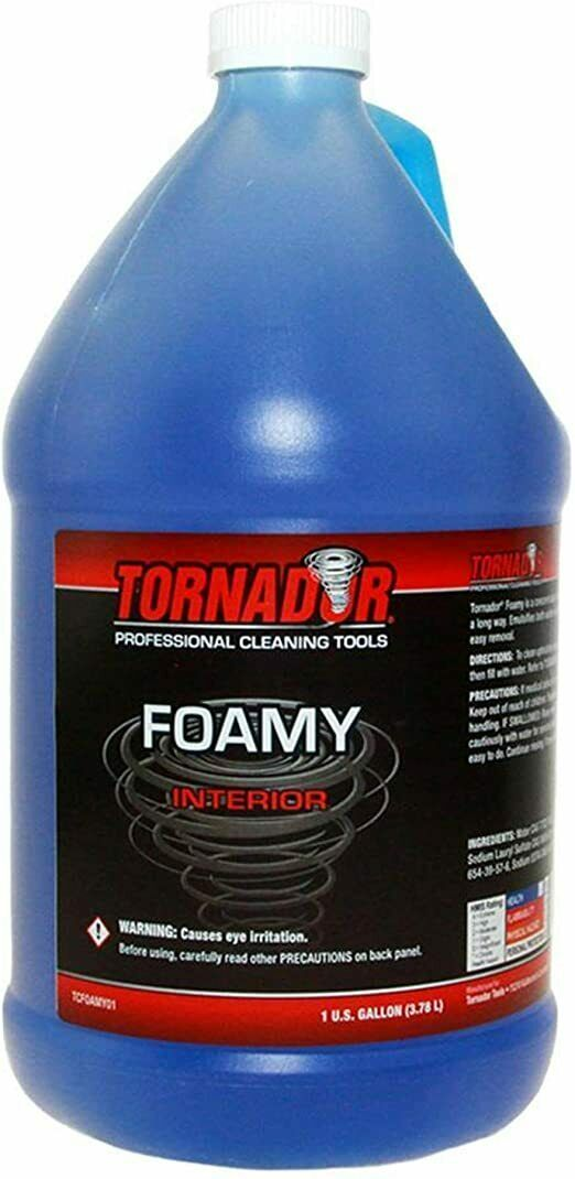 Load image into Gallery viewer, Tornador Foamy Emulsifying Interior Cleaner 2oz Bottles Gallon