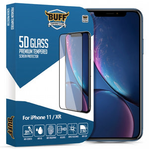 Buff iPhone 11 / XR   5D Glass Ekran Koruyucu