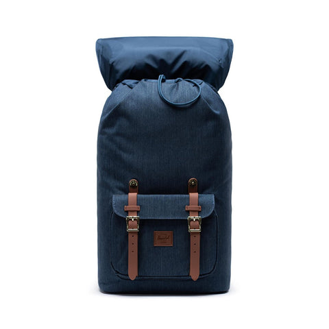 Herschel Little America Backpack - Indigo Denim Crosshatch