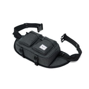 EIGHTEEN HIP PACK, 6L, BLACK CROSSHATCH