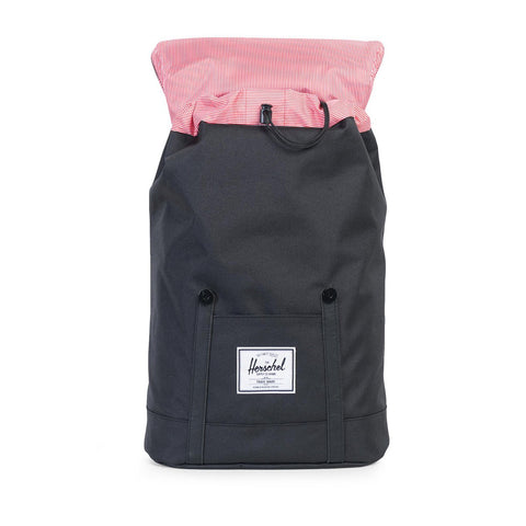 Herschel Retreat Backpack - Black/Black Pu