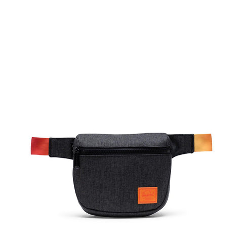 Herschel Fifteen Hipsack - Black Crosshatch Sunset