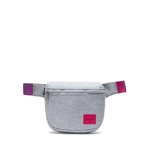 Herschel Fifteen Hipsack - Light Grey Crosshatch Sunrise