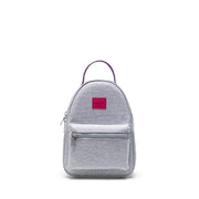 Herschel Nova Mini Backpack - Light Grey Crosshatch Sunrise