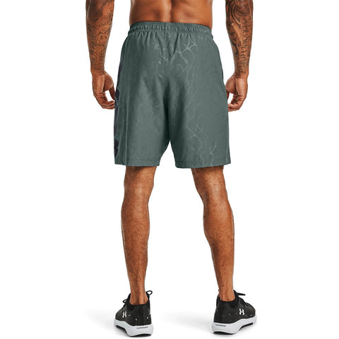 Under Armour Men's  Woven Graphic Emboss Shorts
