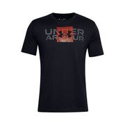 Under Armour Men's  Box Logo Wordmark Short Sleeve