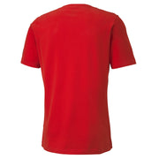 ATHLETICS Tee Big Logo High Risk Red-Dar
