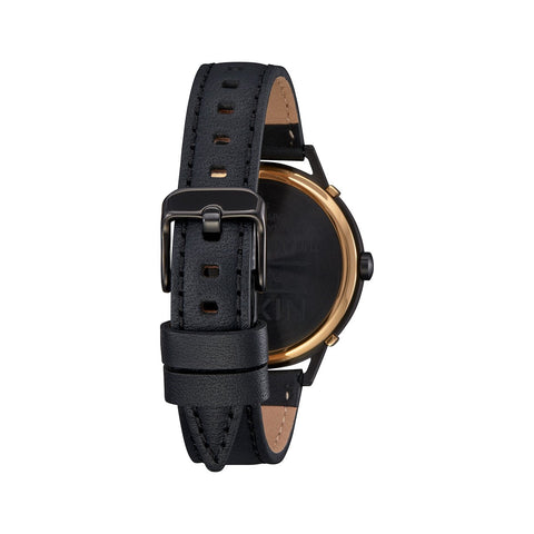 Arrow Lthr Blk/Gld/Cage