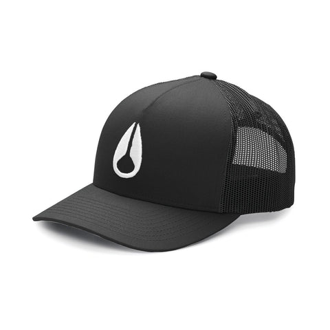 ICONED TRUCKER HAT BLACK/WHITE 20