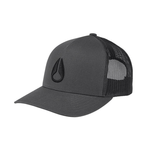 ICONED TRUCKER CHARCOAL/BLACK 20