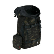 LANDLOCK 30L BACKPACK BLACK MULTICAM 19