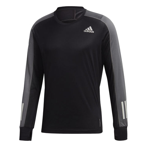 ADIDAS OWN THE RUN LONG SLEEVE TEE M