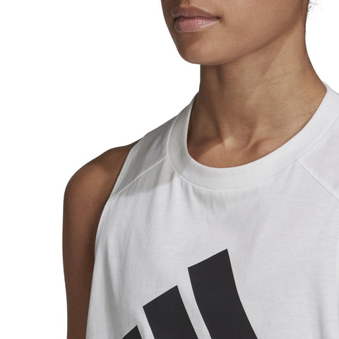 WOMENS MUST HAVES BADGE OF SPORT COTTON  TANK