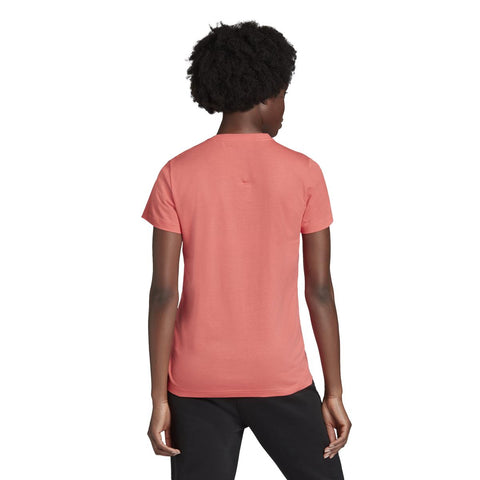 W BADGE OF SPORT COTTON TEE (Regular Fit) - Red