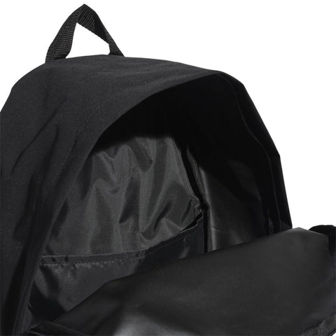 Classic Twill Fabric Backpack - Black