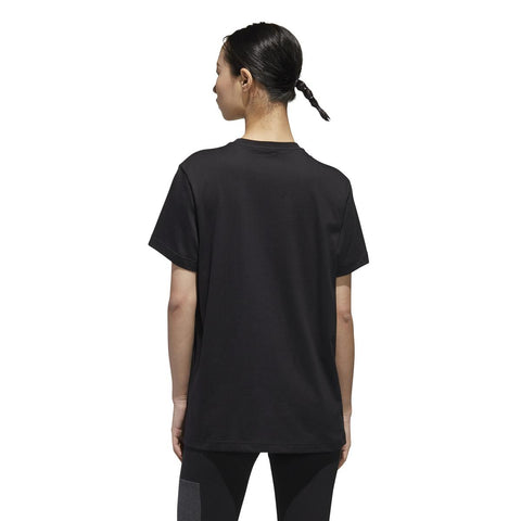 Womens Essentials Linear Loose Tee