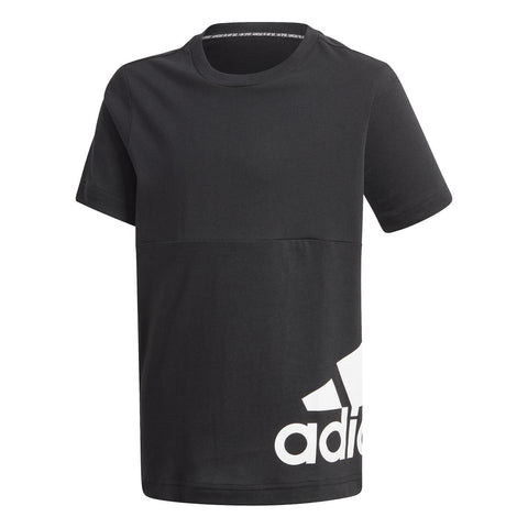 MUST HAVES BIG LOGO TEE - Black