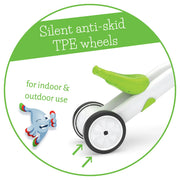 Chillafish Bunzi 2-in-1 Gradual Balance Bike - Lime