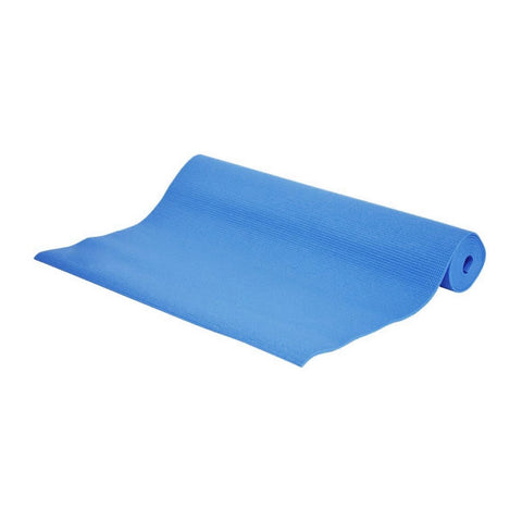 LIVE YOGA MAT 4MM BLUE