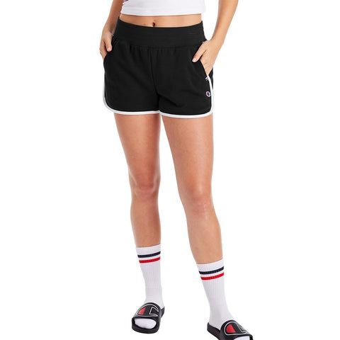 CAMPUS FRENCH TERRY SHORT BLACK