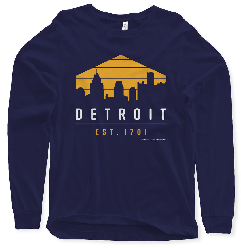 Detroit 1701 Long Sleeve T-Shirt