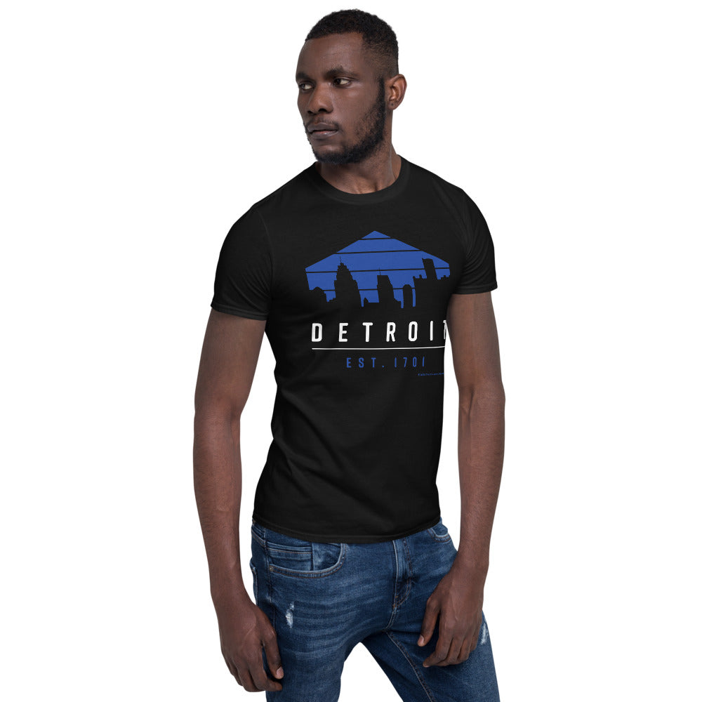 Detroit 1701 T-Shirt (Black)