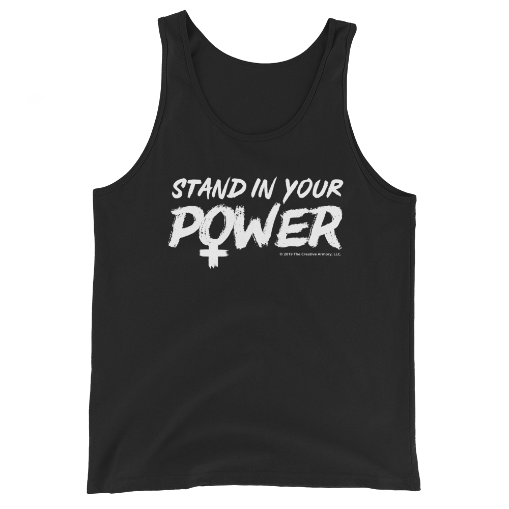 Stand in Your Power Tank Top (Black)