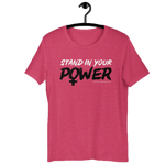 Stand in Your Power Fuchsia T-Shirt