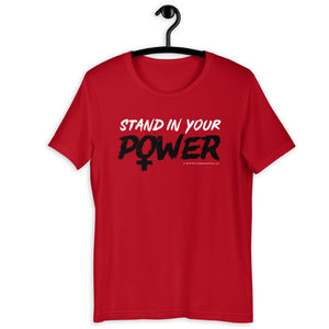 Stand in Your Power Red T-Shirt