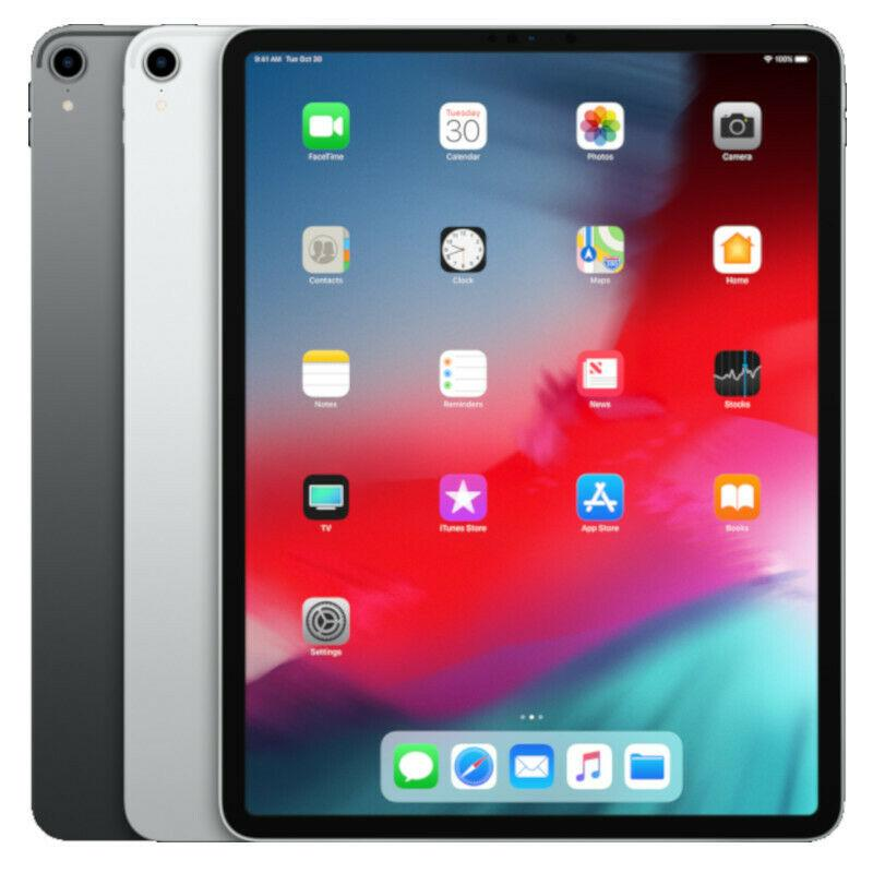 Apple iPad Pro 3rd Gen. (2018) - 64GB 256GB 512GB 1TB, Wi-Fi, 12.9in, Two Colors - Fix Or Cell Now Device Shop