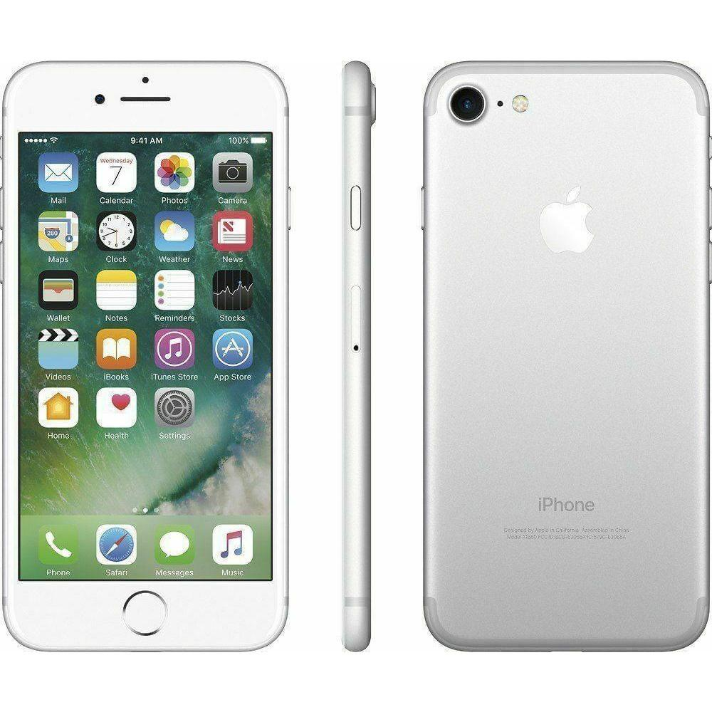 Apple iPhone 7 Silver 32GB Smartphone - Fix Or Cell Now Device Shop