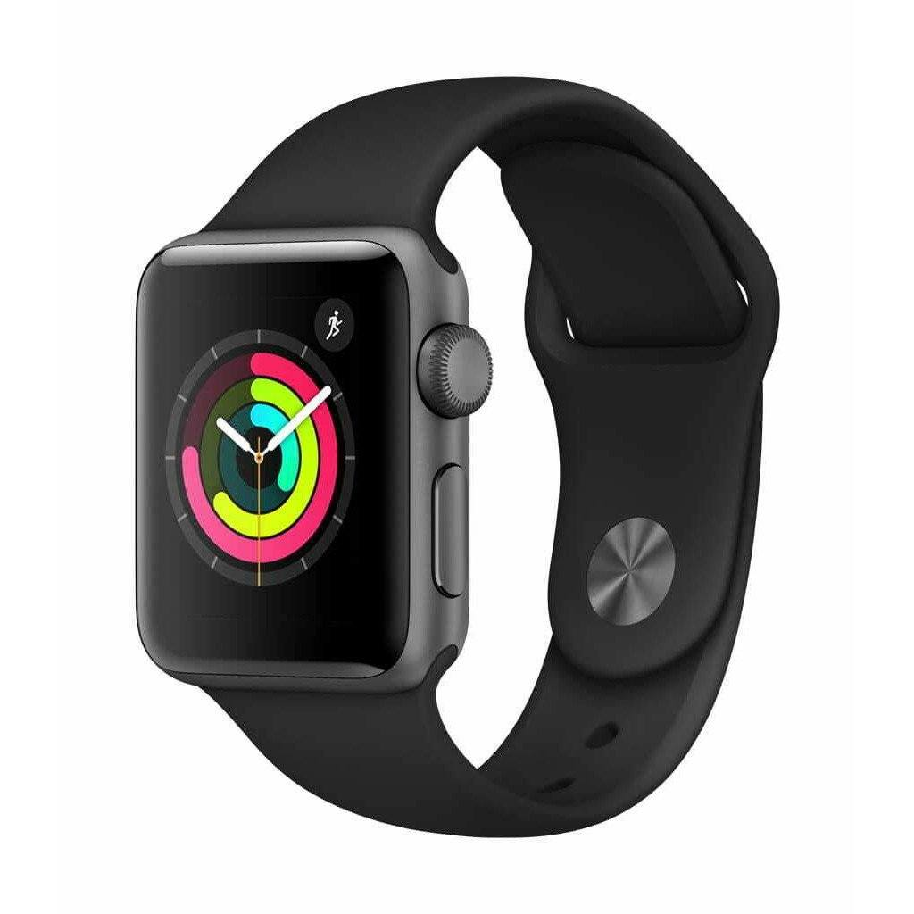 Apple Watch Series 3 GPS 38mm Space Gray Aluminum Case w/ Black Band BRAND NEW! - Fix Or Cell Now Device Shop