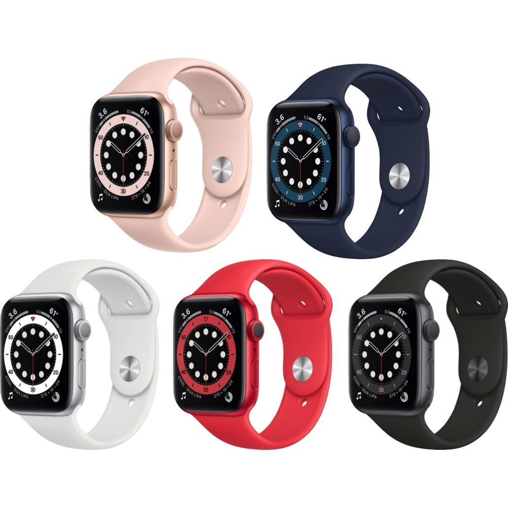 Apple Watch Series 6 (GPS) 44mm - Factory Sealed - Factory Warranty - All Colors - Fix Or Cell Now Device Shop