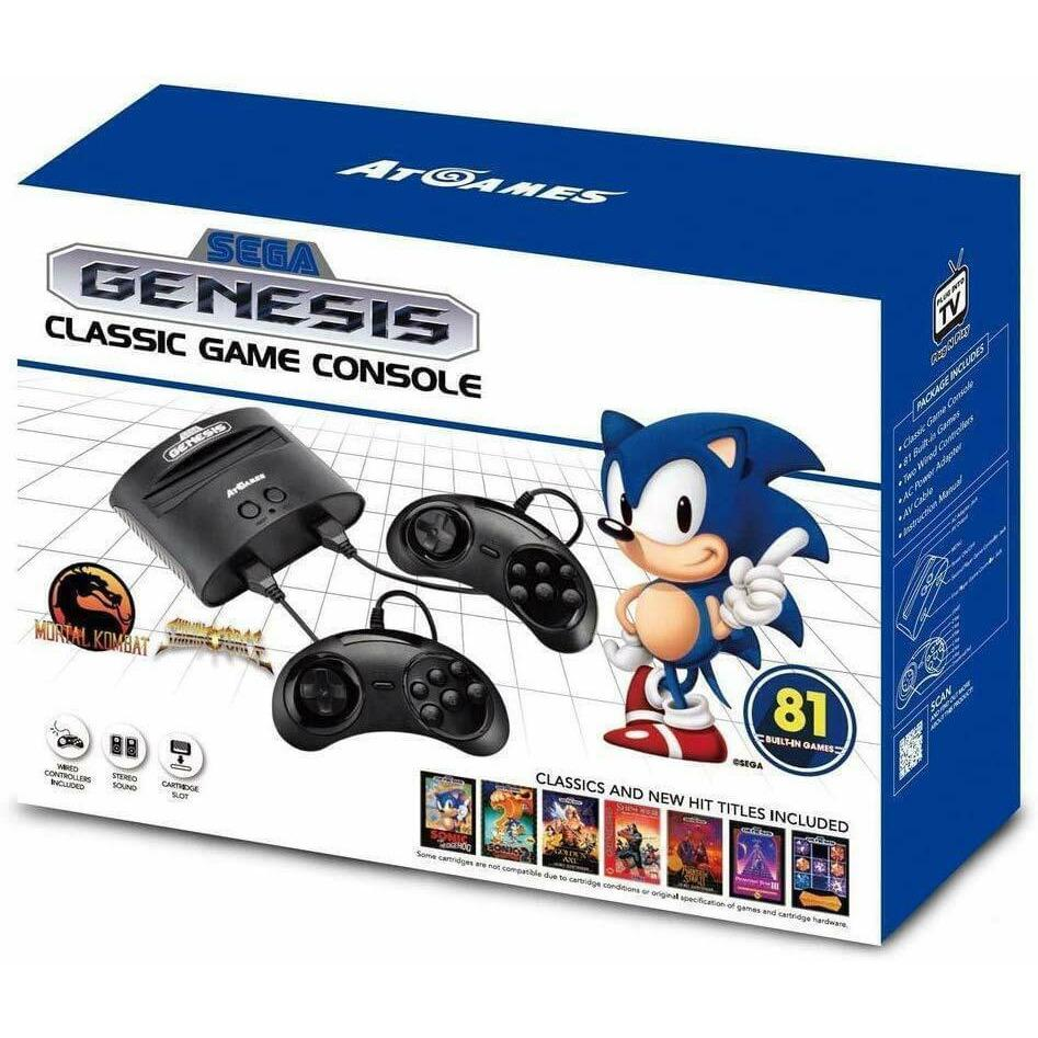 AtGames Sega Genesis Classic Home Game Console - Fix Or Cell Now Device Shop