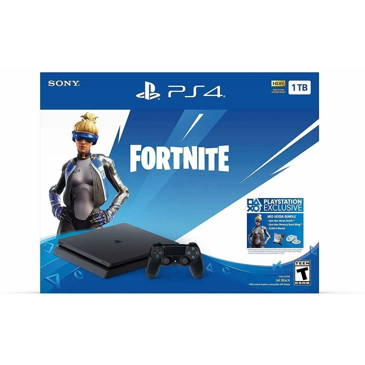 New PlayStation 4 Slim 1TB Console Fortnite Bundle - Fix Or Cell Now Device Shop