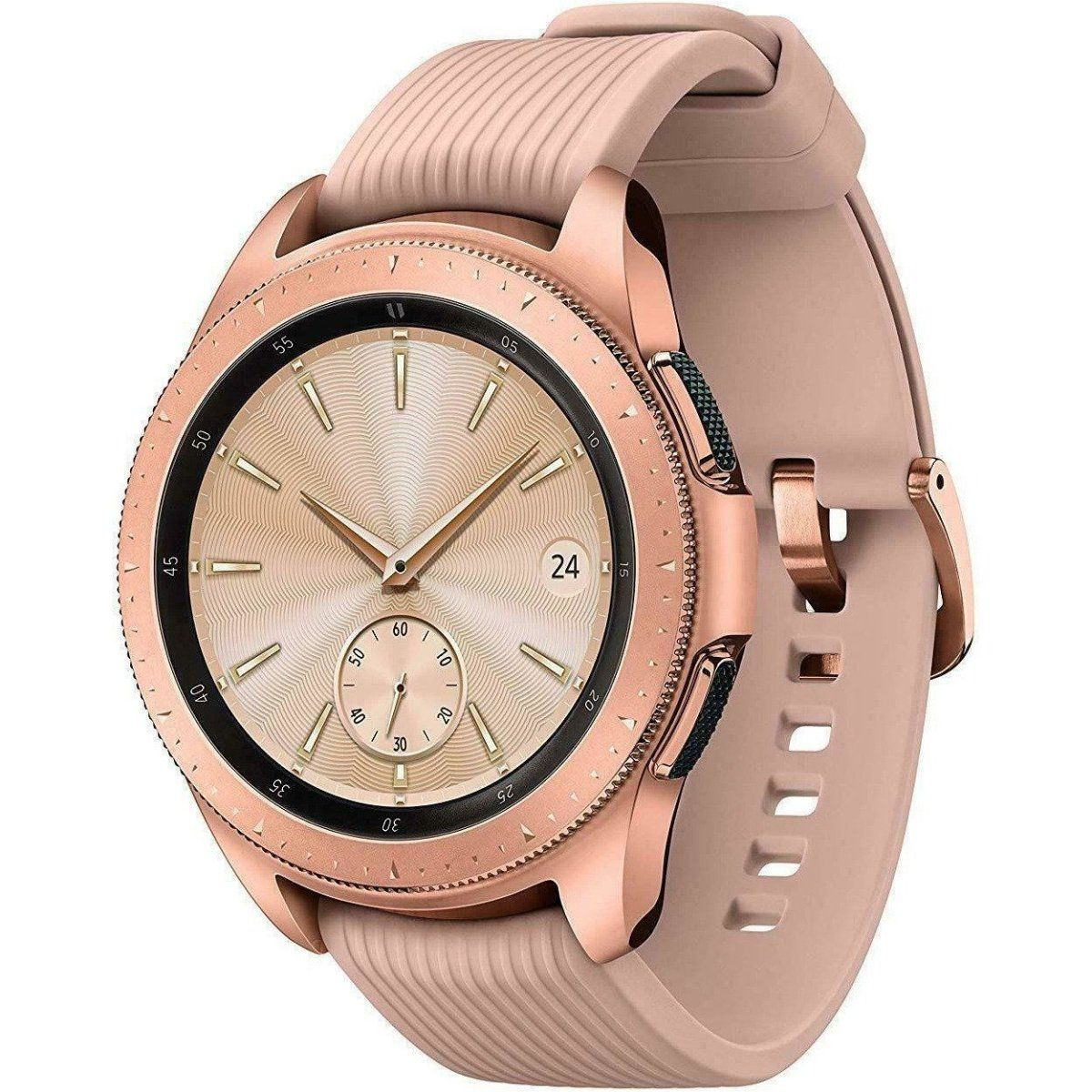 NEW Samsung Galaxy Watch SM-R815U 42mm Bluetooth + 4G LTE Unlocked - Rose Gold - Fix Or Cell Now Device Shop