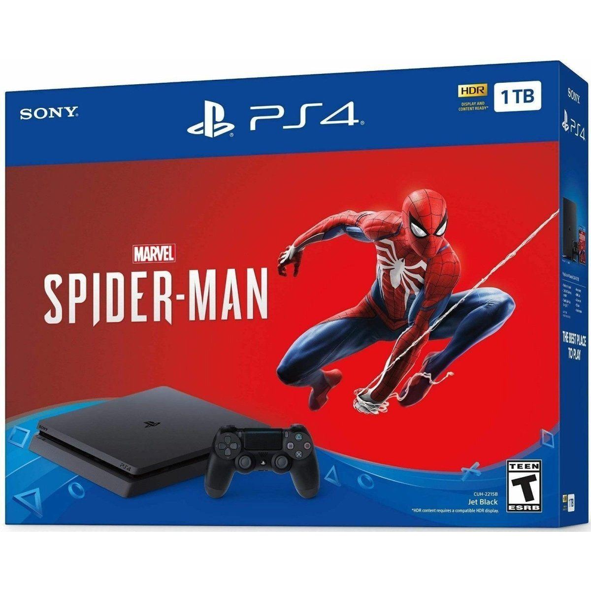 NEW Sony PlayStation 4 Slim Marvel Spiderman Bundle - Fix Or Cell Now Device Shop