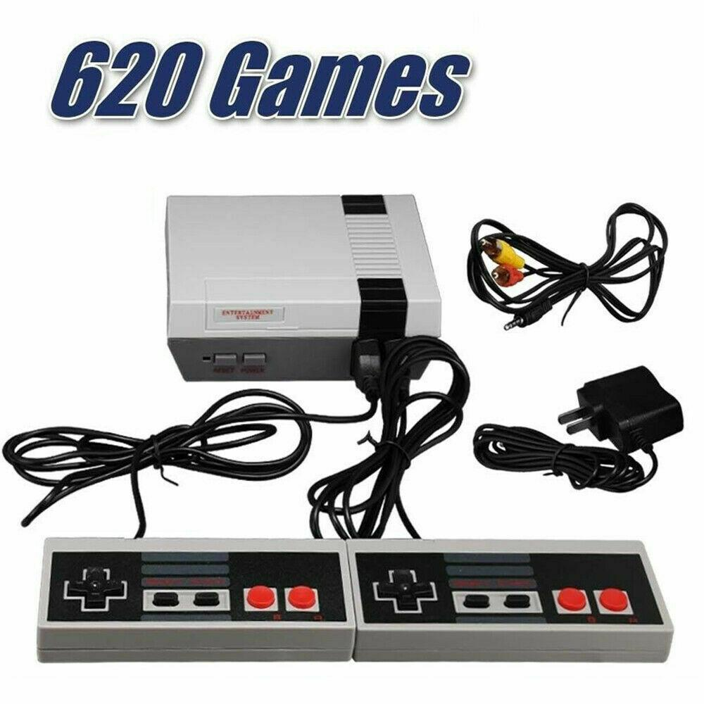 Retro Game Console  With 2 Controllers - Fix Or Cell Now Device Shop