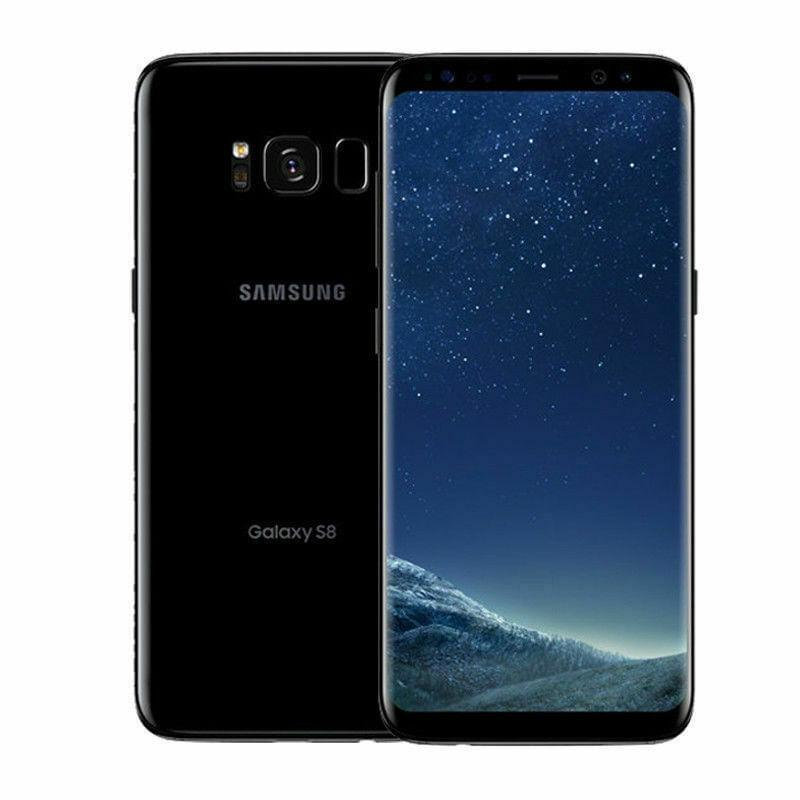 Black Samsung Galaxy S8 - Fix Or Cell Now Device Shop