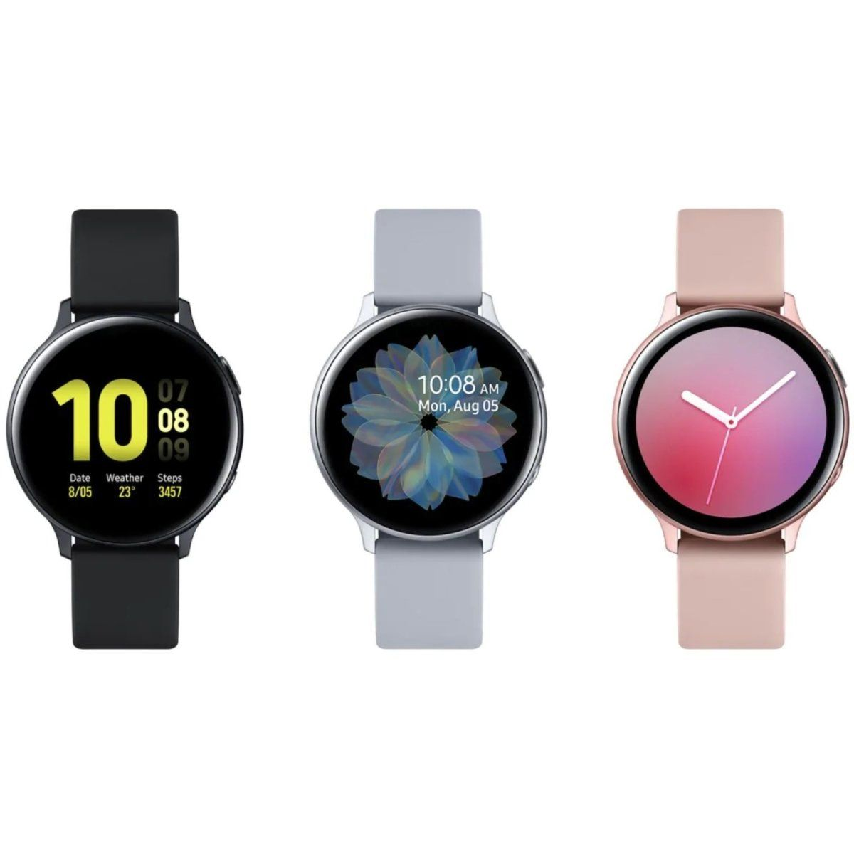 Samsung Galaxy Watch Active 2 40mm (2019) Aluminum + Fluoroelastomer + Bluetooth - Fix Or Cell Now Device Shop