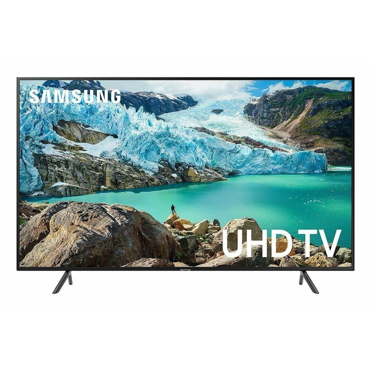 "Samsung UN43RU7100 43"" Smart 4K Ultra HD TV with Google Assistant & Alexa - Fix Or Cell Now Device Shop"