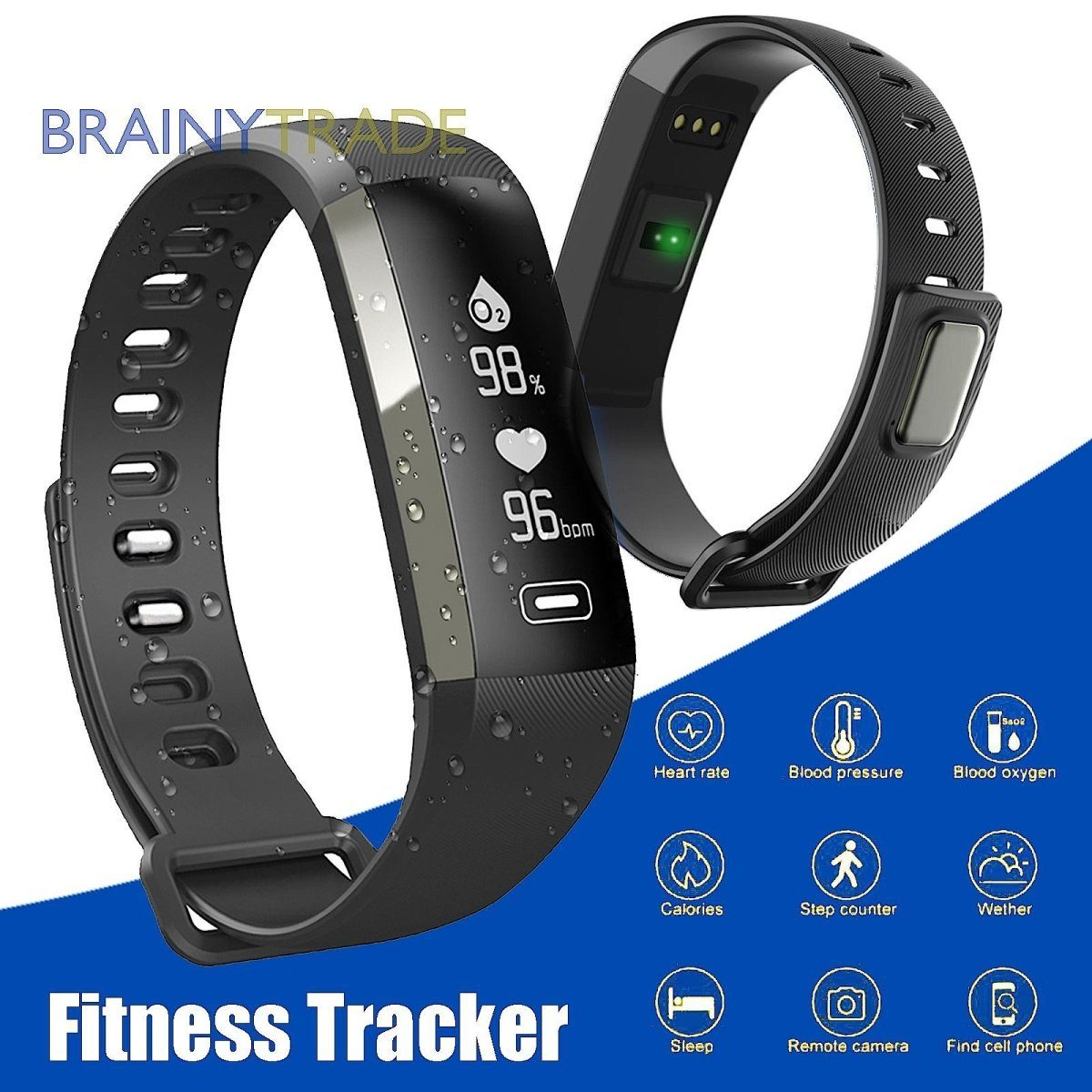 Smart Watch Band Fitness Tracker - Fix Or Cell Now Device Shop