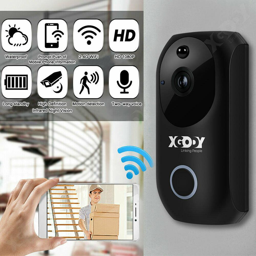 XGODY Wireless HD DoorBell 1080P - Fix Or Cell Now Device Shop