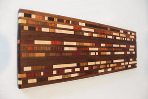 Walnut Charcuterie with Exotic Wood Inlay