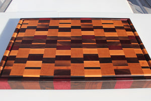 Large Chaos Cutting Board