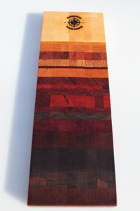 Ombre End-Grain Charcuterie Board
