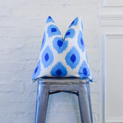 Blue Ikat Eye